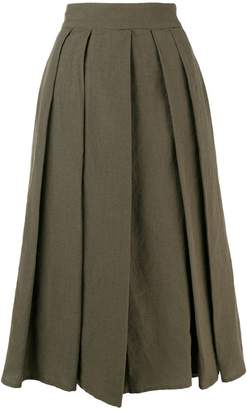 Aspesi pleated midi skirt