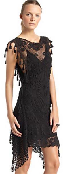Jean Paul Gaultier Lace Crochet Dress