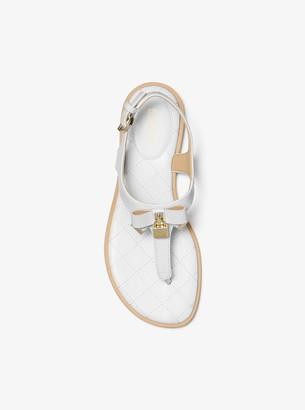 Sandals Blue Leather Shopstyle Patent Women's 3ARj4L5