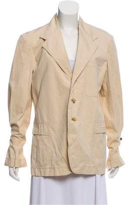 Marni Notched Lapel Unstructured Blazer
