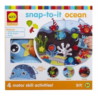 Alex Discover Snap-To-It Felt Scene Creation Toy Ocean