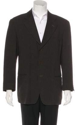 Giorgio Armani Wool & Silk Deconstructed Blazer