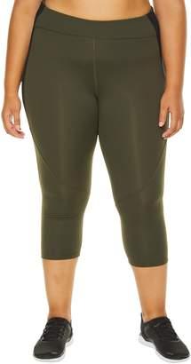 SHAPE Activewear Utility Mesh Capri Leggings