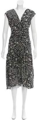 Isabel Marant Floral Midi Dress
