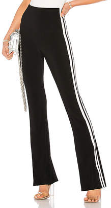 Norma Kamali Side Stripe Boot Pant