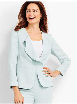 Talbots Seasonless Crepe Jacket