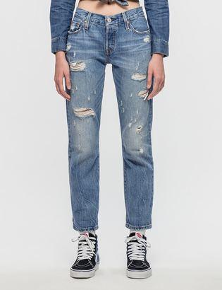 Levi's 501CT Radio Star Jeans $115 thestylecure.com