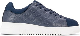 Emporio Armani branded detail sneakers