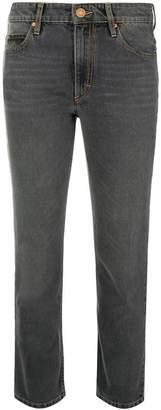 Etoile Isabel Marant straight cropped jeans