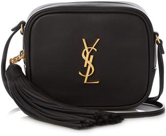 SAINT LAURENT Monogram Blogger leather cross-body bag $671 thestylecure.com