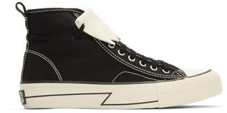 Visvim Black Skagway Kiltie High-Top Sneakers