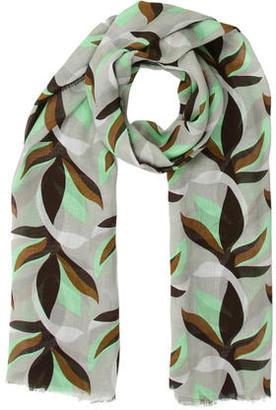 Diane von Furstenberg Geometric Print Scarf $55 thestylecure.com