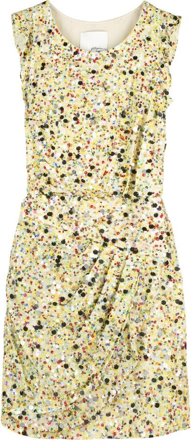 3.1 Phillip Lim Multicolored sequin dress