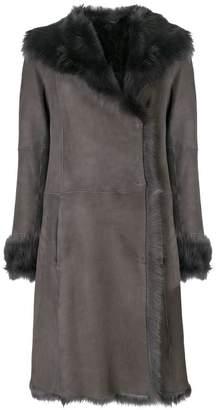 Joseph lambskin coat
