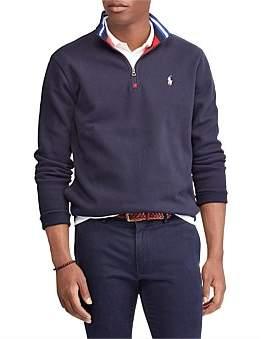Polo Ralph Lauren Long Sleeve-Knit-Mesh Dbl Knit