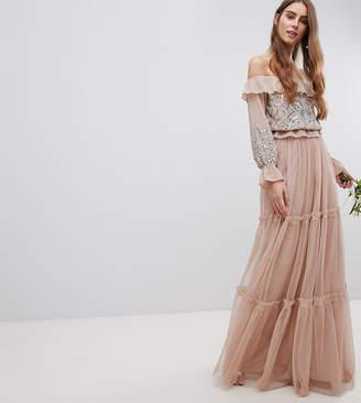 Maya Tall Premium Tulle Layered Maxi Bridesmaid Skirt