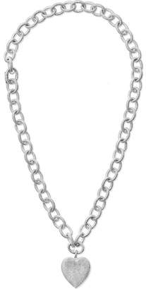 Carolina Bucci Florentine Convertible 18-karat White Gold Necklace - one size