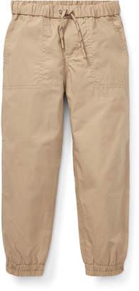 Ralph Lauren Childrenswear Cotton Jogger Pants, Size 2-4