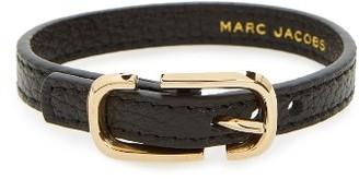 Women's Marc Jacobs Icon Leather Bracelet $95 thestylecure.com