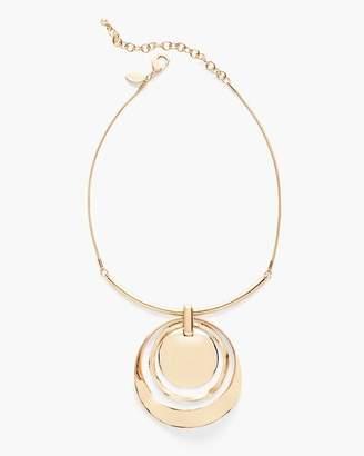 Chico's Gabi Short Pendant Necklace