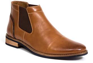 Deer Stags Men Argos Memory Foam Dress Comfort Casual Fashion Cap Toe Chelsea Boot Men Shoes