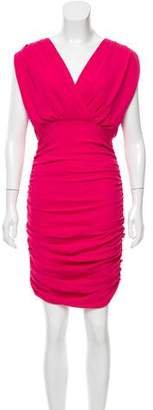 Alice + Olivia Ruched Sleeveless Dress w/ Tags