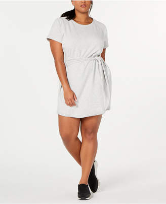 Ideology Plus Size Tie-Front T-Shirt Dress