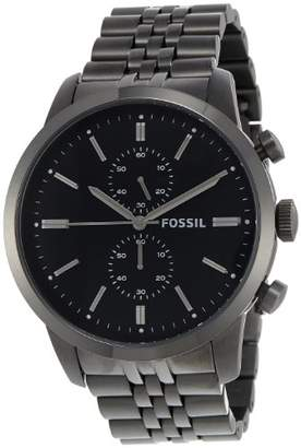 Fossil Men's FS4786 Townsman Analog Display Analog Quartz Grey Watch