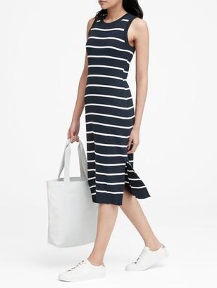 Banana Republic Stripe Knit Dress