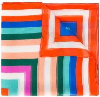 Diane von Furstenberg striped scarf