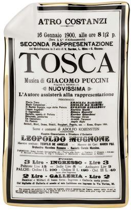 Fornasetti Locandina Tosca Sheet Ashtray