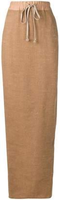 Rick Owens full high-waisted skirt