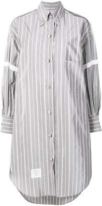 Thom Browne 200% Small Repp Stripe Armband Shirt