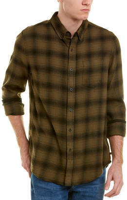 AG Jeans Grady Plaid Button Down Top