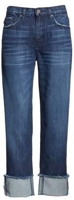 Joie Josie Straight Leg Crop Cuff Jeans