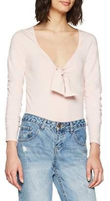 New Look Women's Tie Front T-Shirt,(Manufacturer Size:)
