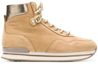 Hogan ankle lace boots