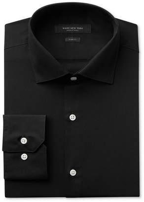 Andrew Marc Men's Slim-Fit Motion-Ease Collar Wrinkle-Free Solid Dress Shirt