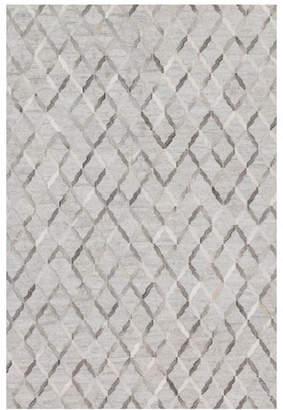 """Audie Silver Hairhide Rug, 7'9"""" x 9'9"""""""