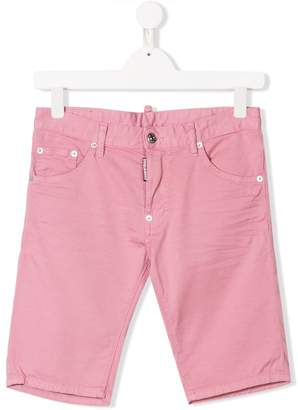 DSQUARED2 TEEN slim-fit shorts
