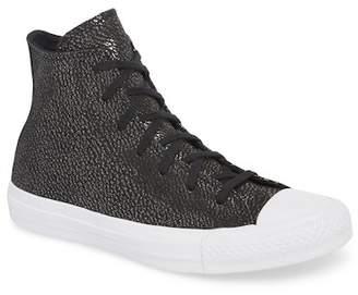 Converse Chuck Taylor All Star Tipped Metallic High Top Sneaker