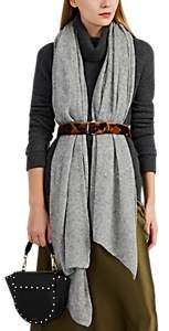 Barneys New York Women's Open-Knit Mélange Cashmere-Silk Scarf - Gray