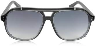 Stella McCartney SC0076S Aviator Shield Acetate Women's Sunglasses
