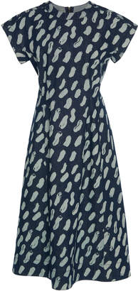 Marni Printed Denim Dress