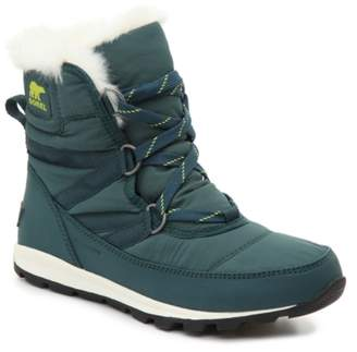 Sorel Whitney Short Lace Waterproof Snow Boot