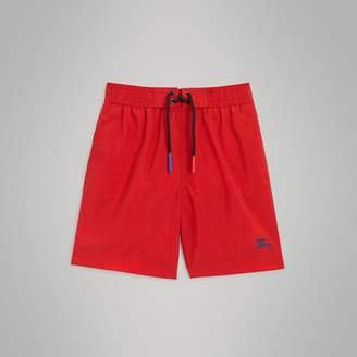 Burberry Drawcord Swim Shorts , Size: 14Y, Red