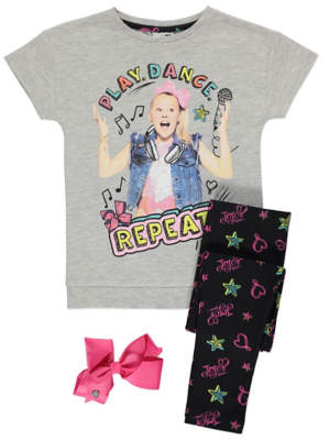 George JoJo Siwa Pyjama and Bow Set