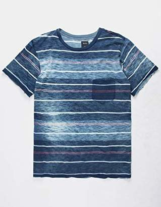 RVCA Men's Rusholme Stripe Short Sleeve Pocket T-Shirt