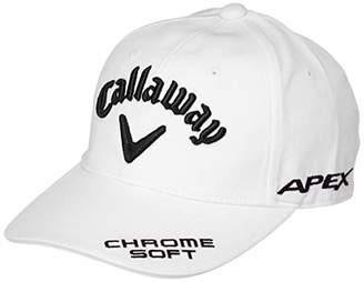Callaway (キャロウェイ) - [キャロウェイ] [レディース] 定番 ロゴ入り キャップ (ツアーモデル)[ 241-9984807 / TOUR CAP WOMENS ] 帽子 ゴルフ 030_ホワイト/ブラック 日本 FR (FREE サイズ)