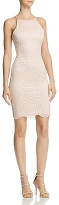 AQUA Lace Body-Con Dress - 100% Exclusive $88 thestylecure.com